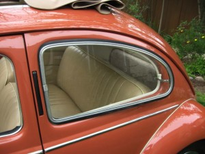 Install VW Beetle windows