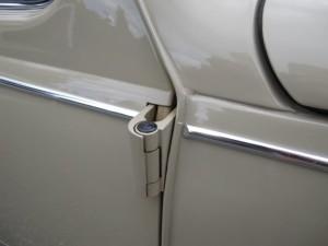 VW Beetle door hinge